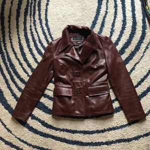 Steve Madden - Leather jacket size XS